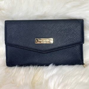 Kate Spade Black Trifold iPhone Wallet